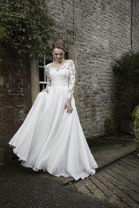 Azalea wedding dress by Lyn Ashworth. Ellison Gray Bridal are Lyn Ashworth stockists in the North of England, Durham