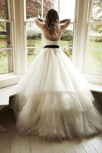 Joy wedding dress by Lyn Ashworth. Ellison Gray Bridal are Lyn Ashworth stockists in the North of England, Durham