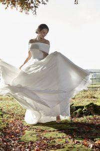 Henrietta wedding dress by Lyn Ashworth. Ellison Gray Bridal are Lyn Ashworth stockists in the North of England, Durham