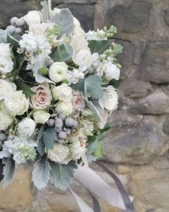 Bridal bouquet flowers or a newcastle wedding