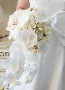 orchid bridal bouquet wedding flowers