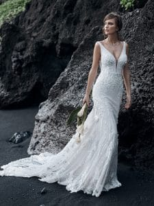 Cruz wedding dress without sleeves by sottero and midgely available at ellison gray bridal in durham uk north east
