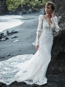 Cruz wedding dress with sleeves by sottero and midgely available at ellison gray bridal in durham uk north east